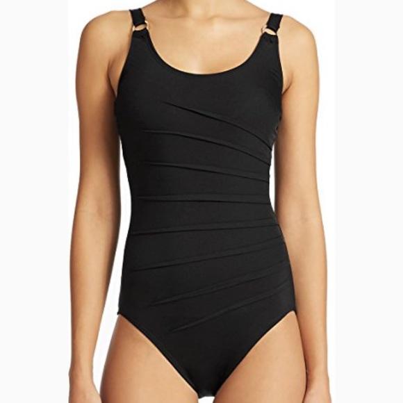 996912939bf88 Calvin Klein Other - Calvin Klein Black Starburst One Piece Swimwear